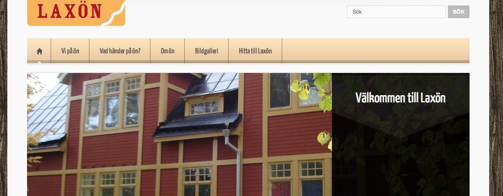 Laxon.se webbplats med publiceringsverktyg