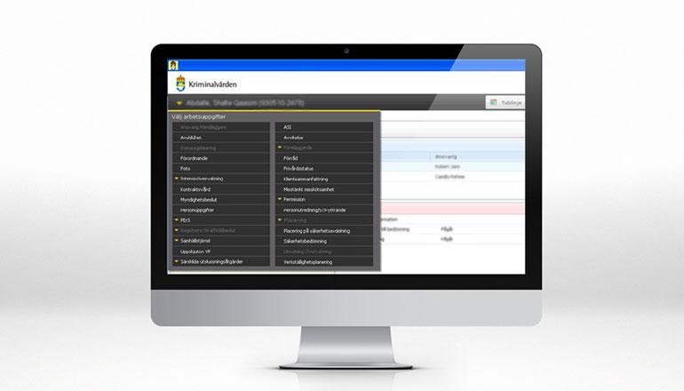 Kriminalvårdens registervårdsystem KVR