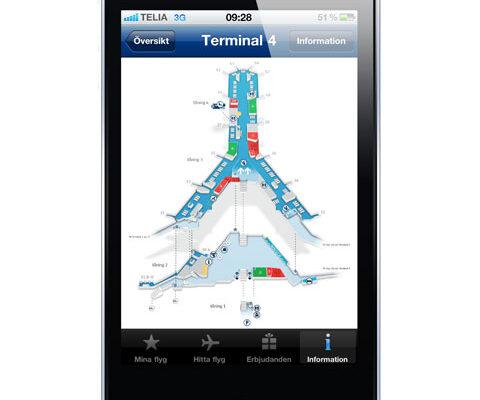 Arlanda flygplats app