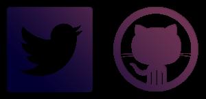 Github Twitter
