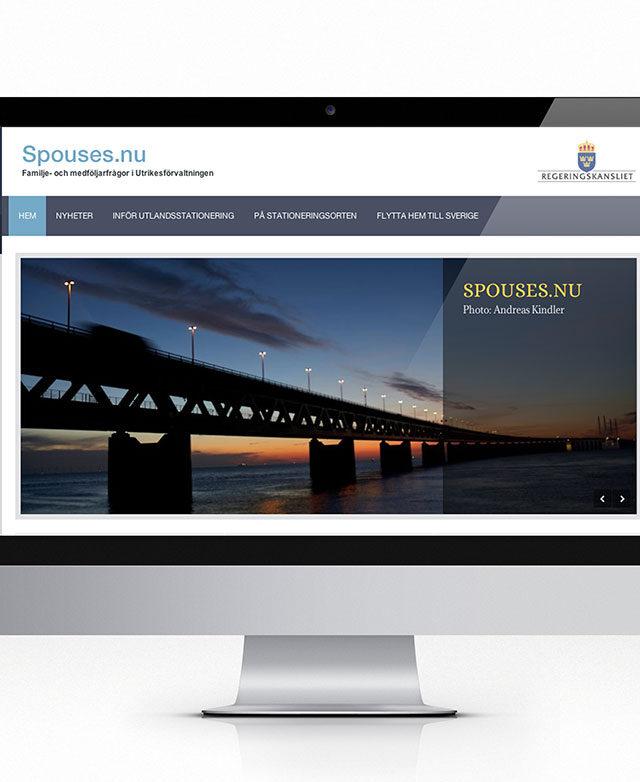 Utrikesförvaltningens familjer får ny informations webbplats