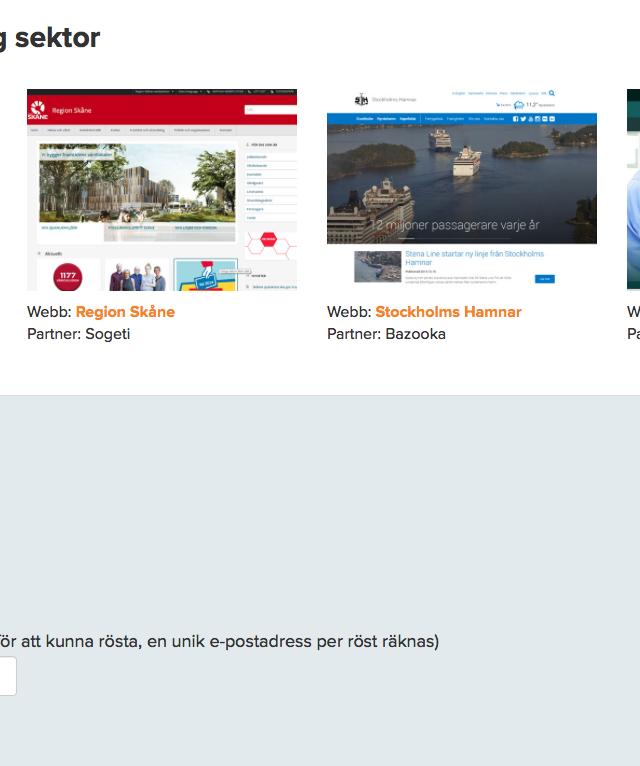 Kriminalvårdens nya webbplats kriminalvarden.se är en utav fyra finalister i årets Episerver Awards 2014
