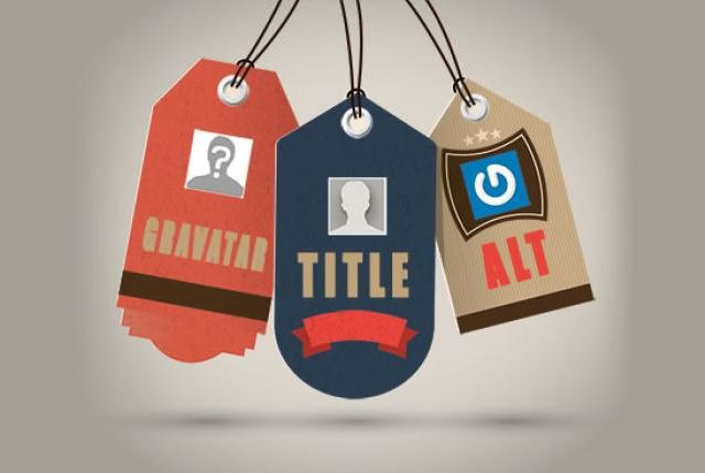 ALT and TITLE tags for Gravatars in WordPress