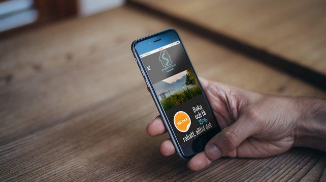 Svinö Stugby Sea Villas & Lodges – mobilanpassad hemsida med publiceringsverktyg