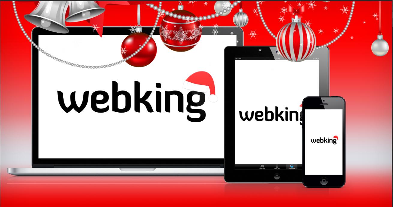 Webking julbild