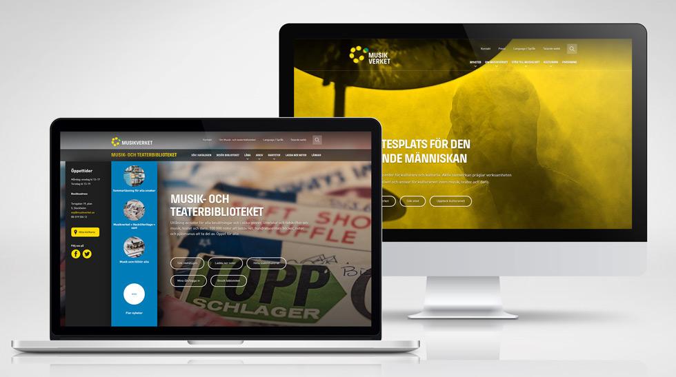 Musikverket webbplats