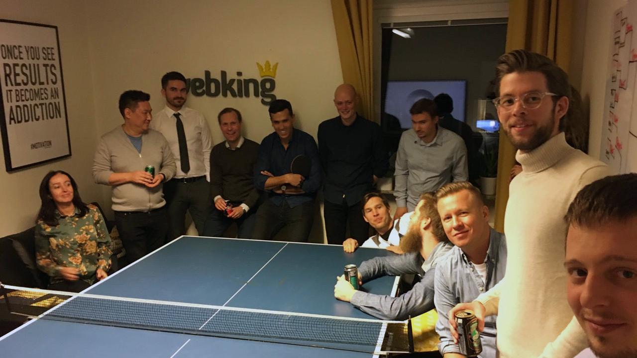 Throwback till Webkings releaseparty för appen High Score