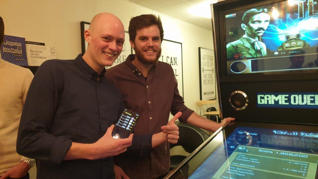 Johan Groot och David Gunbrant på Webking har utvecklat Appen High Score tillsammans.