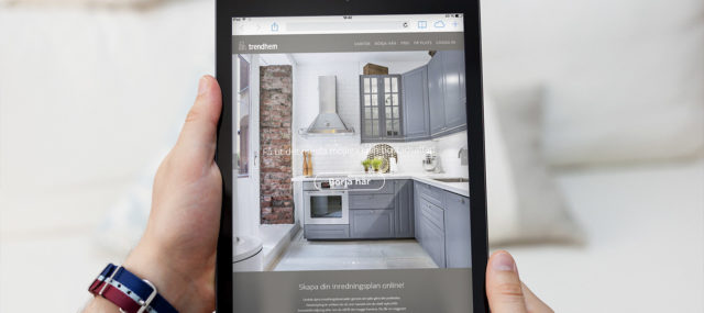 Digital homestyling till Trendhems nya webbapplikation