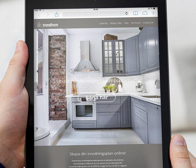 Digital homestyling till Trendhems nya webbapplikation