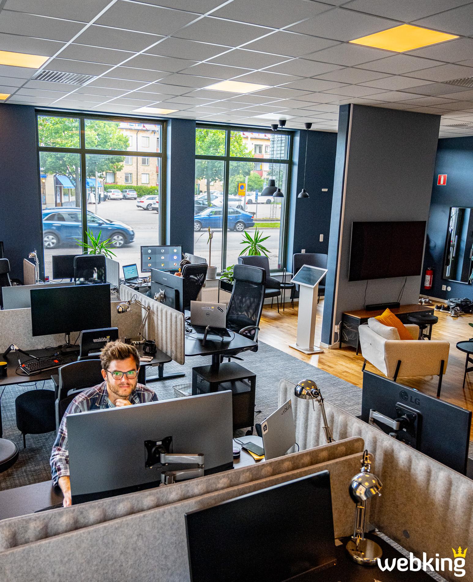 Webking har nu ett grymt bra kontor