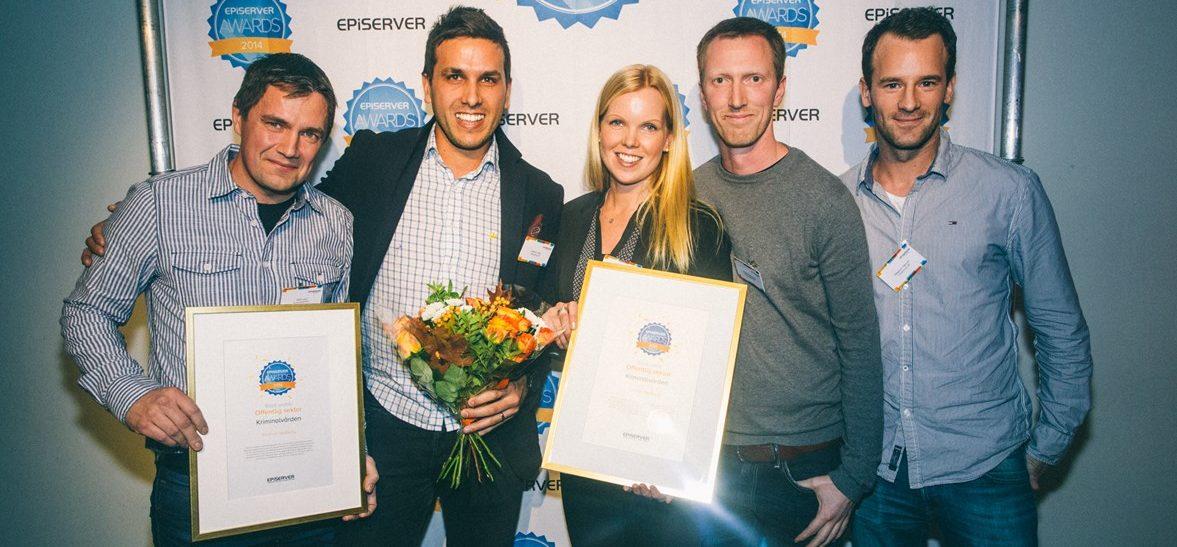episerver award 2014 gick till webking och kriminalvården