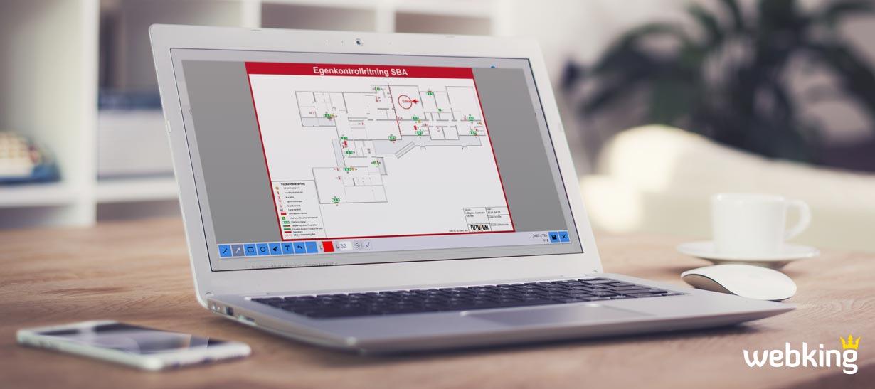 Safexit - Enkelt att korrigera och förhandsgranska din ritning innan den tillverkas