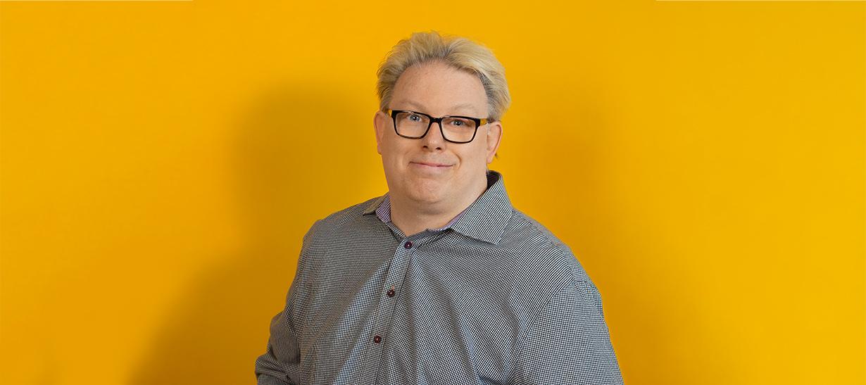 Johan Åhlund är webkings Content Hacker